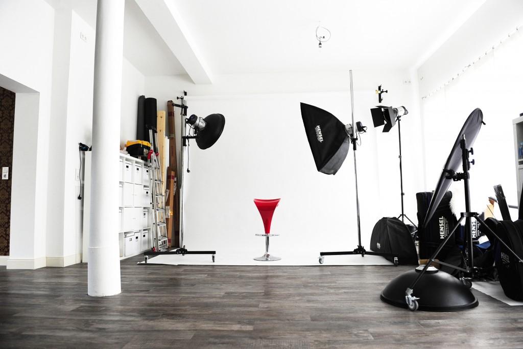 Studiotechnik im Fotostudio Hannover