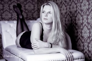 schwarze Dessous Fotoshooting Erotik Hannover 3