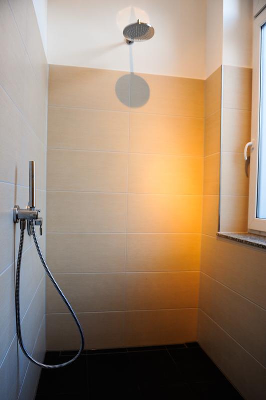 Dusche für Fotoshootings in Hannover