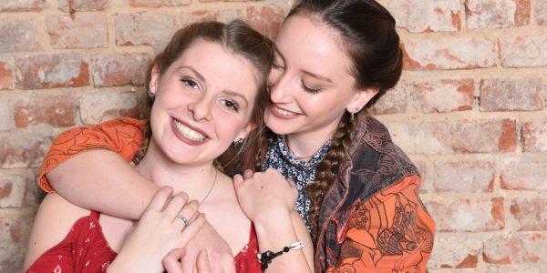 Freundinnen Fotoshooting – vertrautes Miteinander