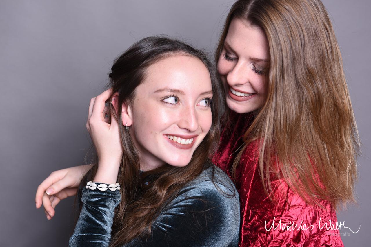 Freudinnen Fotoshooting – Elegant