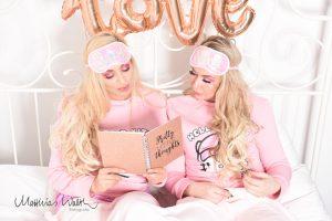 Fotoshooting Freundinnen Pink 5
